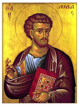 icon of Saint Luke